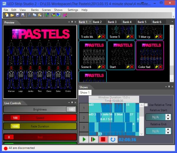 LED Strip Studio software