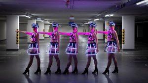 Tron Girls Dolls Black Version 3